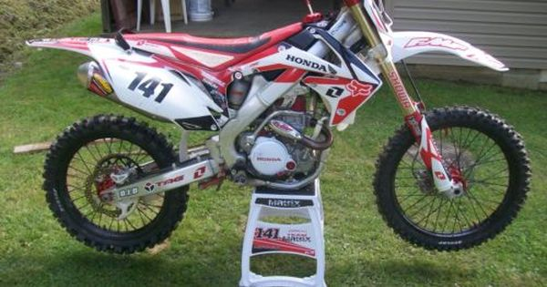 2011 Honda Crf250r For Sale On Craigslist Motorbikes For Sale Honda Honda Motorcycles Motocross