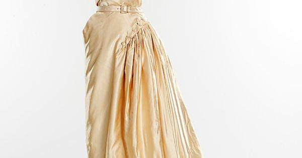 "1949–50 - ""Gruau"" Christian Dior dress"
