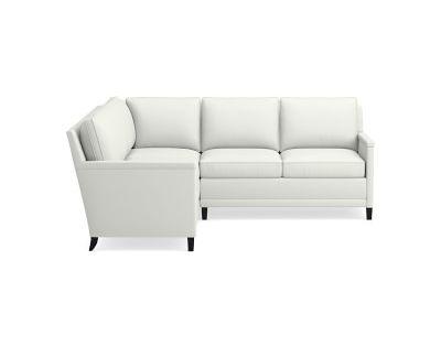 Addison Sectional Right 2 Piece L Shape 3 Cushion Cornering Sofa