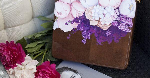 Bag Peony Solid Wood Hand Painted Size 25 25 7cm Shop On Www Mybacio Com Sumka Piony Naturalnoe Derevo Ruchnaya Rospis Razmer 25 25 7 Sm P