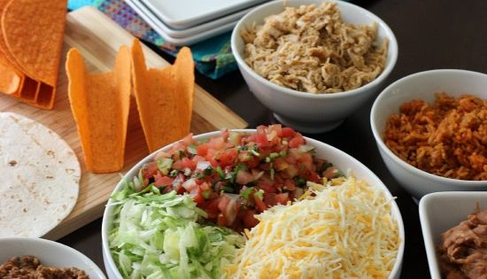 Best ever taco meat recipe taco bar taco bar recipes for Food bar 788