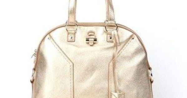 Adorable everyday satchel for a casual attire...Yves Saint Laurent YSL  Womens  Muse  Leather Dome Satchel Bag  ac188c0b0ceb5