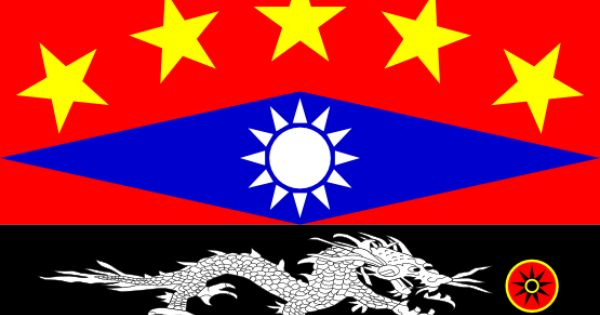 the china flag