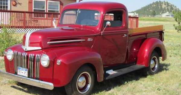 Restored 1947 Ford Pickup Truck For Sale Ford Pickup Trucks