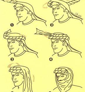 Como Colocarse Un Turbante Arabe Hombres Buscar Con Google Arabe Vestimenta Hombre Arabe Ropa De Supervivencia