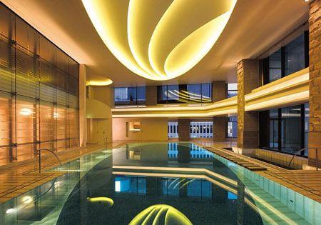 Interior Pool at The Peninsula Hotel, Tokyo | Hotels ...