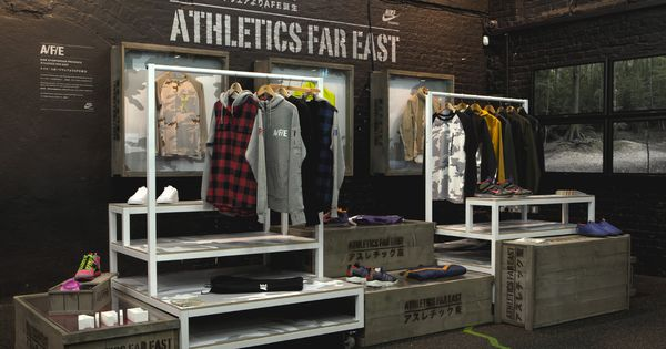 Sports Store  Retail Design  Shop Interior  Sports Display  Athletics Far East ...