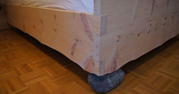 Zirbenholz schlafzimmer modern  Schlafzimmer Ideen Zirbenholz Schlafzimmer Modern Doppelbett In ...