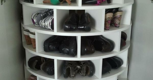 LazySusan shoe rack