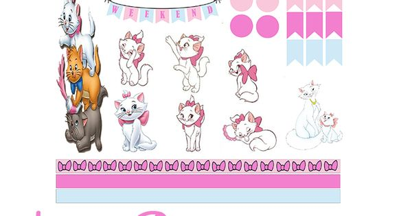 the Aristocats Free Planner Printable! | planner ideas ...