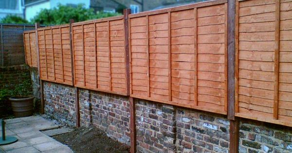 The Great Wall Of My House Backyard Fences Brick Fence Modern Fence