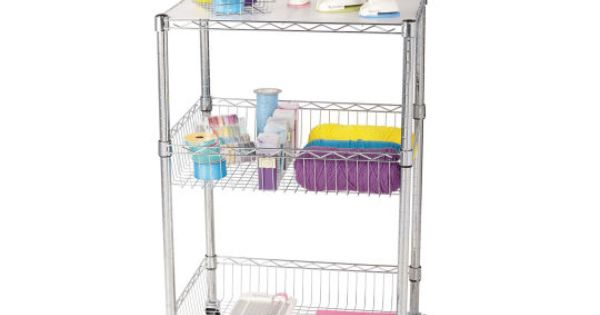 Michael 39 s this modular utility cart is the for Michaels craft storage cart