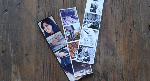 punch camera photo strip