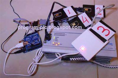 Usb Smart Card Reader And Allen Bradley Plc With Bridged By Arduino Uno Plus Usb Host Shield Card Reader Arduino Cards
