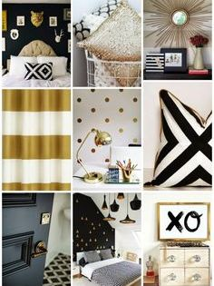 Black Gold Bedroom On Pinterest Egyptian Home Decor Gold Grey