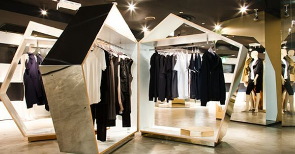 retail design shop design fashion store interior fashion shops city of the future opening ceremony japan retail pinterest clothes stand