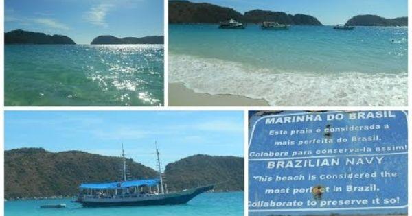 Ilha De Cabo Frio Praia Do Farol Arraial Do Cabo Rio De