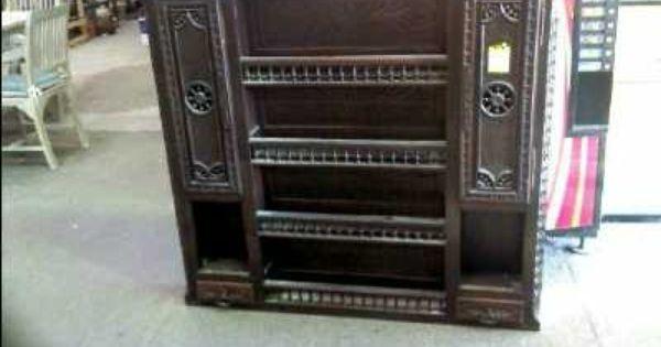 Haut De Vaisselier Style Breton D Occasion Troc Com Liquor Cabinet Decor Home Decor