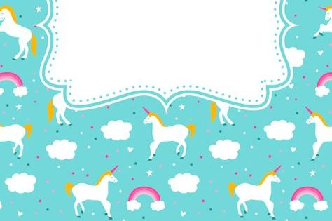 Free Printable Unicorn Binder Cover Template Download The