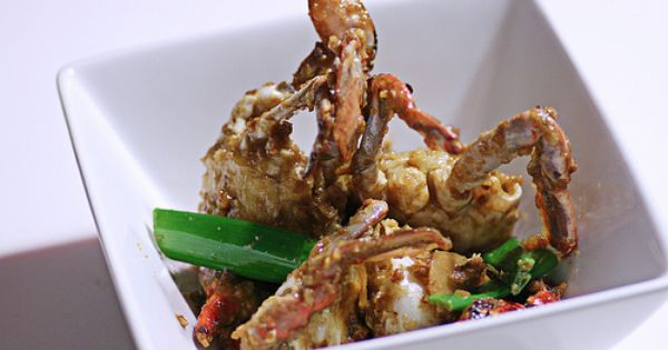 Chinese ginger and scallion crab (姜葱蟹) | Yummy Delicious Goodies ...