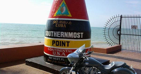 Victory southernmost point key west victory motorcycles for Stile key west