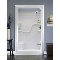 Madison 4 3 Piece Shower Stall With