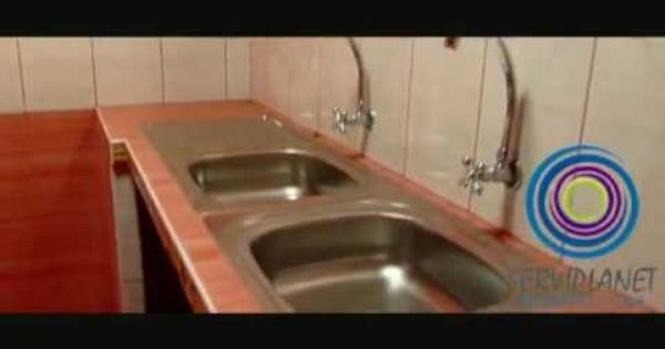Cocina con muble de concreto y enchapado con ceramicos y con lavadero de concreto - Lavadero easy ...
