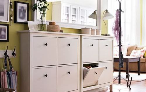 hemnes schuhschrank und spiegel h bsch wohnen pinterest hemnes schuhschrank hemnes und. Black Bedroom Furniture Sets. Home Design Ideas