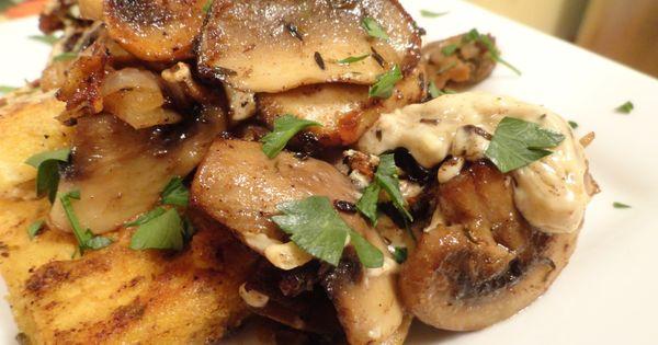 """Tofu Georgia"" a la Paula Deen!: FYI use a second pan to"