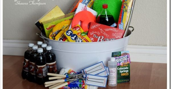 for those with school-age kids, I LOVE this idea! Giant summer fun