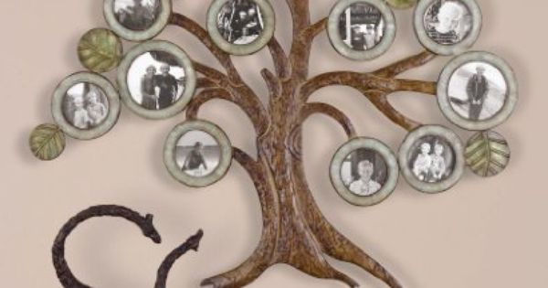 Extra Large Family Tree Photo Collage Wall Frame Iron By