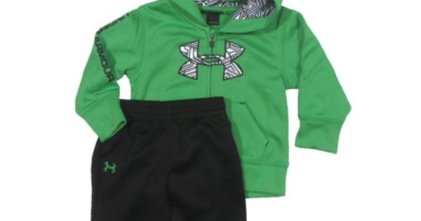 Under armour outfit.