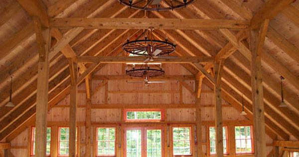 Wood Barn Kit Pictures - Timber Frame Kit Homes Gallery - Post and Beam - A Frame ...