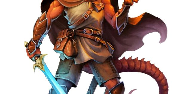 Half Red Dragon Magus - Pathfinder PFRPG DND D&D d20 ...
