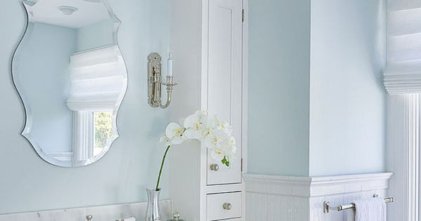 Benjamin Moore Feather Gray Ooh Yes This Is The Bluest