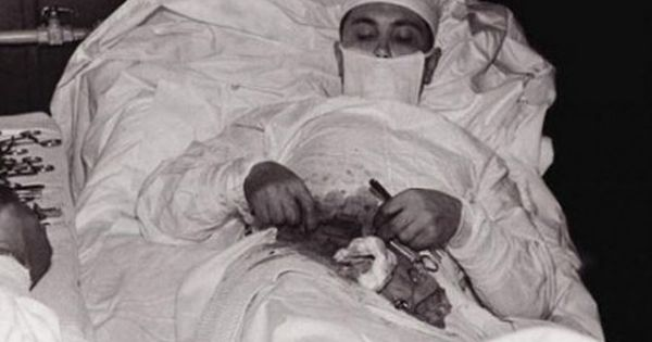 Leonid Rogozov was a Soviet doctor who took part in the sixth