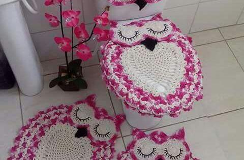 Tapetes de coruja croch andreia lucena pinterest for Buenas ideas decoracion