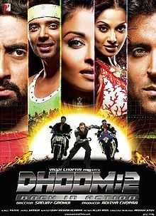 Download Film Dhoom 2 : download, dhoom, Dhoom, Wikipedia,, Encyclopedia, Hindi, Bollywood, Movies,, Movie, Songs