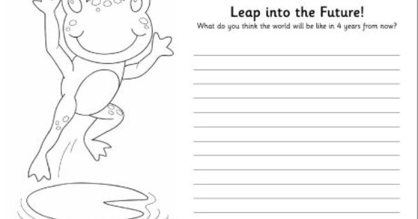 Funny Leap Year Birthday Quotes: Leap Into The Future Worksheet, Available In Colour Or