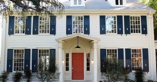 Kishani Perera Home Exteriors Benjamin Moore Golden
