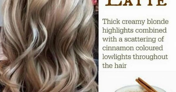 Chai Latte Creamy Blonde Highlights With Cinnamon