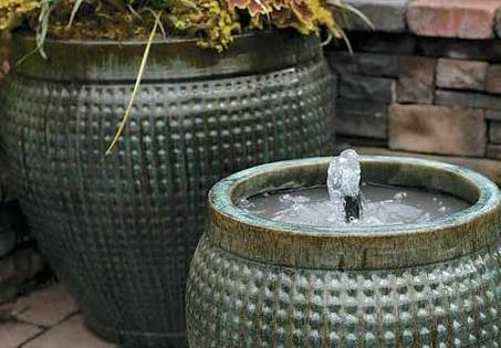 13 projects for backyard relaxation gardens copper and pump for Is copper pipe better than pvc