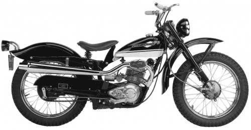 Harley Davidson Model 165