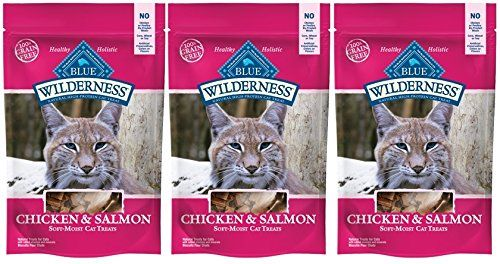 Blue Buffalo Wilderness Grain Free Cat Treats Chicken Salmon 3 Packages This Is An Amazon Affiliate Link Be Sure To Check With Images Free Cats Cat Treats Salmon Cat