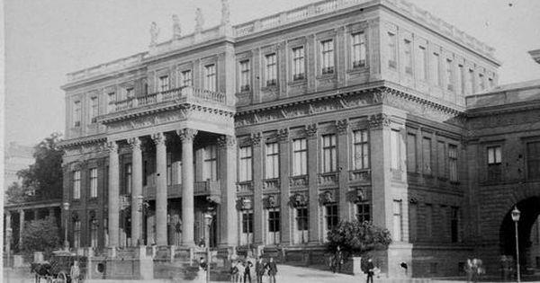 1886 Berlin Kronprinzenpalais Historische Fotos Berlin Leben In Berlin