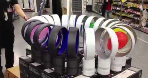 ヨドバシカメラ札幌店が ダイソンの羽のない扇風機 でワクワク感が半端ない実演販売を実施 Netgeek 生活 扇風機 ダイソン