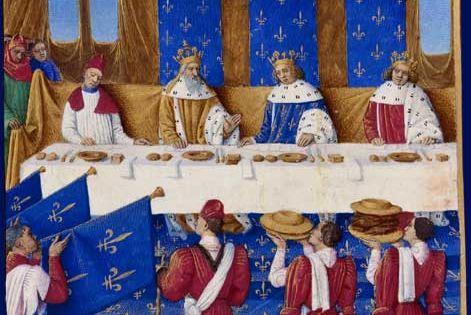 banquet de charles v le sage medieval cuisine
