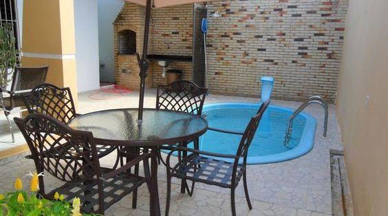 Decora o para quintal pequeno com piscina decora es for Ideias para piscina de fibra