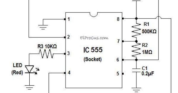 ic 555 tester