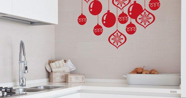 Bolas de navidad que podr s colocar en cristales azulejos - Bolas transparentes para decorar ...